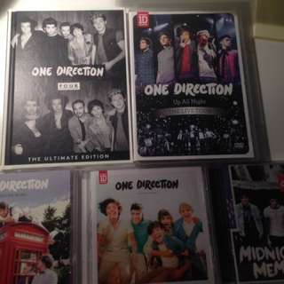 One Direction CDs/DVDs