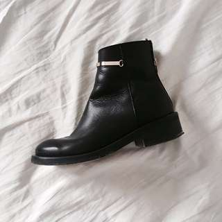 TOPSHOP - Leather Ankle Boot (EU 38)