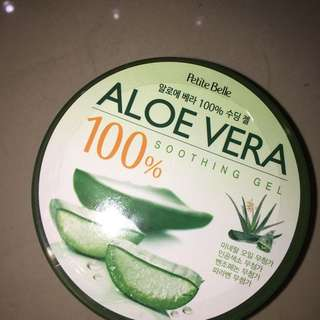(NEW) 100% Aloe vera Shooting Gel