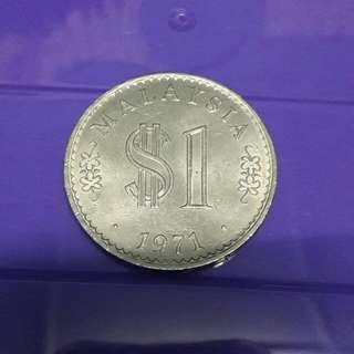 Syiling $1 1971