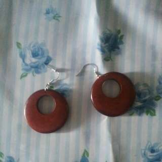 Disco Brown Earrings