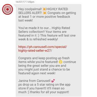 THANK YOU CAROUSELL 💕