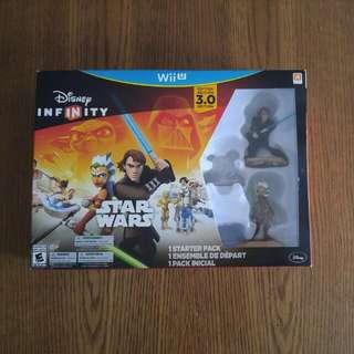 Wii U Star Wars Disney Infinity Starter Pack