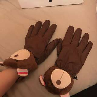 Warm Bear Gloves