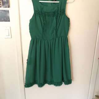Jacob Size M Green Dress