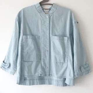 Zara Thin Denim Jacket