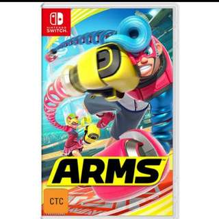 Nintendo Switch - WTT bomber man For Arms .
