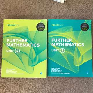 VCE units 3&4 Further Maths Textbooks