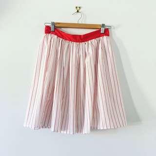 Size 12 Pinstripe Skirt