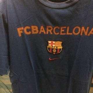 Orig Nike Paquiao And Nike Barcelona Shirt