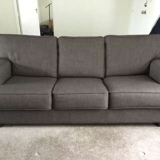 Grey Fold Out Couch