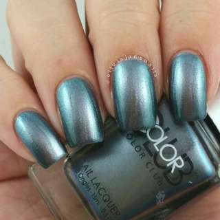 Color Club Ice Breaker Holographic Nail Polish New