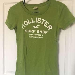 Hollister Green T-shirt