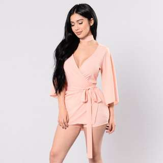 Fashion Nova Pink Romper