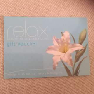 Pamper Yourself Or Someone Special Gift Vouchers