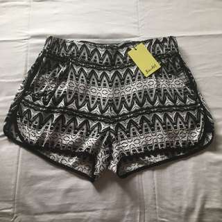 BARDOT printed shorts