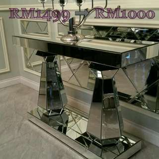 Mirrored Console Table (SSF)