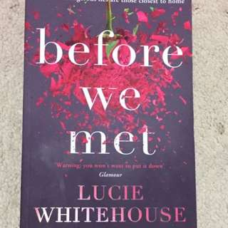 Lucie Whitehouse- Before We Met