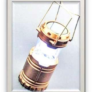 LED露營燈-多功能太陽能