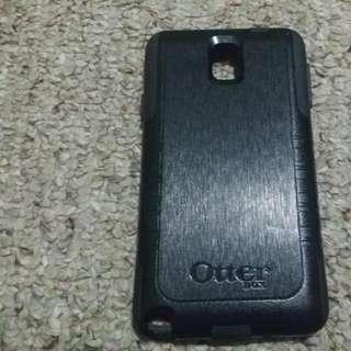 Black Otter Box Samsung note 3 case
