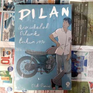 Paket Novel Dilan (1,2,Milea)