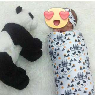 Bedong Instant (cocoon swaddle)