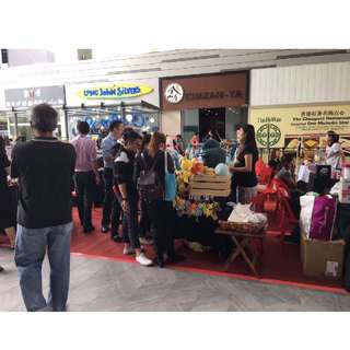 Fashion Bazaar at 18 Tai Seng Atrium $180/ 7 days