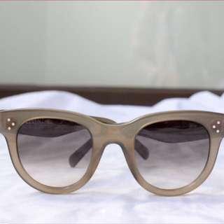 Authentic Celine Sunglasses - Baby Audrey in Khaki
