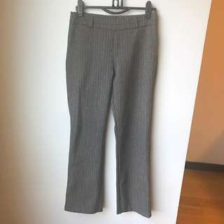 Office Pinstripes Pants Slacks
