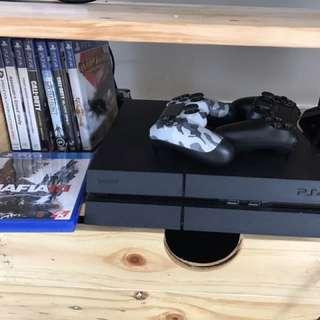 PS 4 slim 1 TB + 8 game