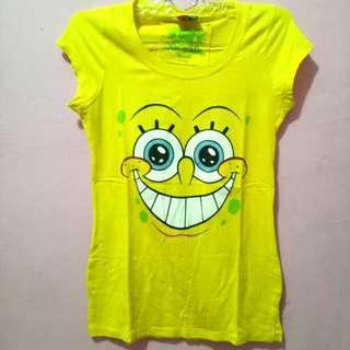 Kaos Spongebob By Coolteen