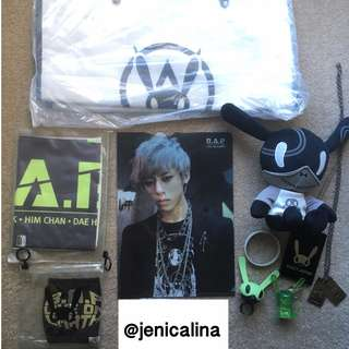 B.A.P Assorted Goods