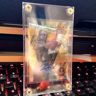 Topps Star Wars High Tek Gold Auto Finn Signed Card 11/50