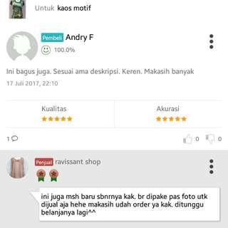 Testi Pembeli Ditokopedia