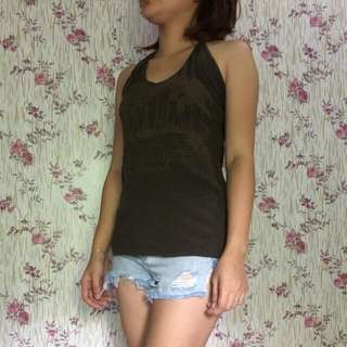 H&M Backless Top