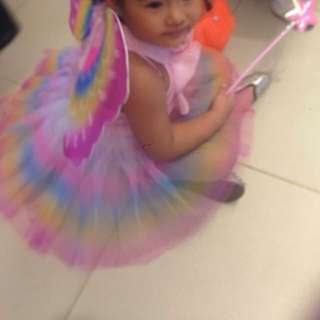 tinkerbell / fairy kids costume