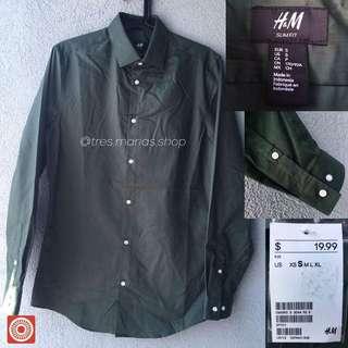 H&M Long Sleeve Polo / Dress Shirt (repriced)