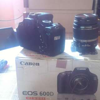 Canon 600D Lens Kit 18-55 mm