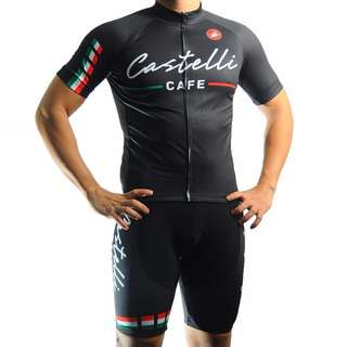 Castelli Cycling Jersey Set