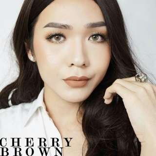 Sweety Cherry Brown Softlens