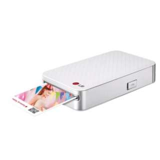 LG Pocket Photo Printer PD233 Silver Colour 相片打印機