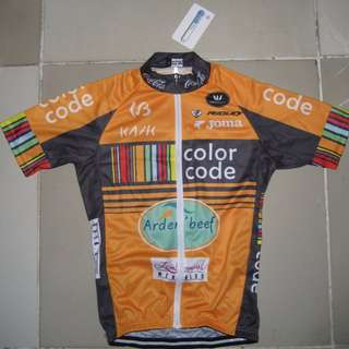 Color Code Orange Cycling Jersey Set