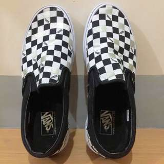 VANS Authentic Checkboard SlipOn