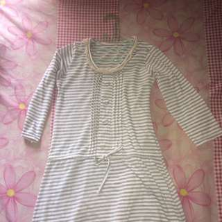 Mini Dress Garis