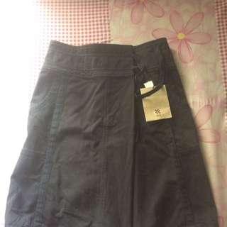 Rok Jeans Hitam