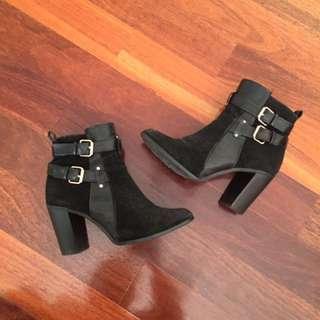 Black Boots (Size 38)