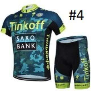 Saxo Bank Cycling Jersey Set