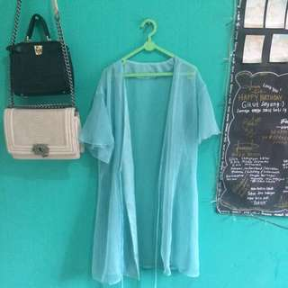 Dress Outer Tembus Pandang