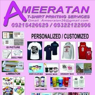 Ameeratan T-shirt Printing Services