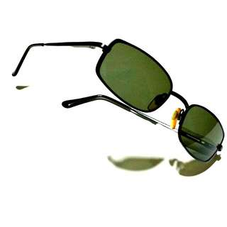 GIORGIO ARMANI Sunglass Classic Rectangular Style Matte BLACK 275-S 706/61 50□19 135 Made in ITALY